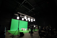 Millennium Studios A Stage Green Screen